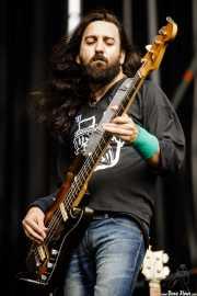 Jose A. Solís, bajista de SCR (Azkena Rock Festival, Vitoria-Gasteiz, 2017)