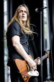 Howie B, guitarrista de Bloodlights (Azkena Rock Festival, Vitoria-Gasteiz, 2017)
