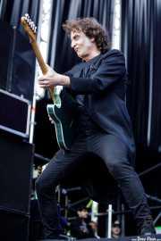 Josu García, guitarrista de Loquillo (Azkena Rock Festival, Vitoria-Gasteiz, 2017)