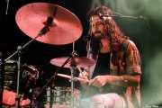 Graham Godfrey, baterista de Michael Kiwanuka (Azkena Rock Festival, Vitoria-Gasteiz, 2017)