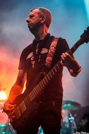 Chris Childs, bajista de Thunder (Azkena Rock Festival, Vitoria-Gasteiz, 2017)
