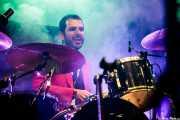 Luis de Diego, baterista de Wyoming y los Insolventes (Azkena Rock Festival, Vitoria-Gasteiz, 2017)
