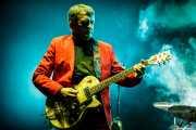 El Gran Wyoming, cantante y guitarrista de Wyoming y los Insolventes (Azkena Rock Festival, Vitoria-Gasteiz, 2017)