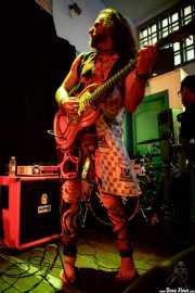 Marassa, guitarrista de Vodun (La Nube Café Teatro, Bilbao, 2017)