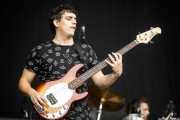 Asier MM, bajista de Zazkel (Bilbao BBK Live, Bilbao, 2017)