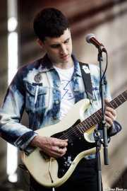 Andoni de La Cruz, cantante y guitarrista de Vulk (Bilbao BBK Live, Bilbao, 2017)