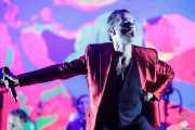 Dave Gahan, cantante de Depeche Mode (Bilbao BBK Live, Bilbao, 2017)