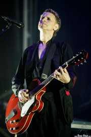 Martin Gore, guitarrista de Depeche Mode (Bilbao BBK Live, Bilbao, 2017)