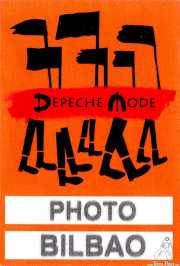 PhotoPass de Depeche Mode (Bilbao BBK Live, Bilbao, )