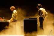 Gaspard Augé y Xavier de Rosnay, programaciones de Justice (Bilbao BBK Live, Bilbao, 2017)