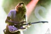 Lee Kiernan, guitarrista de Idles (Bilbao BBK Live, Bilbao, 2017)