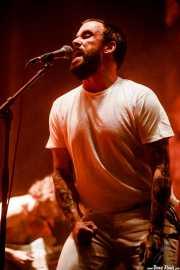 Joe Talbot, cantante de Idles (Bilbao BBK Live, Bilbao, 2017)