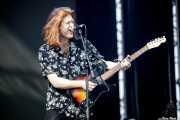 Matt Thomson, cantante y guitarrista de The Amazons (Bilbao BBK Live, Bilbao, 2017)