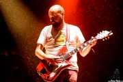 """Manuel Sánchez """"Anntona"""", guitarrista de Los Punsetes (Bilbao BBK Live, Bilbao, 2017)"""