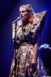 Ariadna Paniagua, cantante de Los Punsetes (Bilbao BBK Live, Bilbao, 2017)