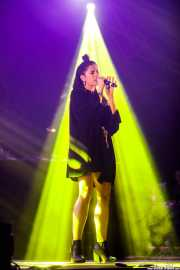 Valentina Pappalardo, cantante de Joe Goddard Live (Bilbao BBK Live, Bilbao, 2017)