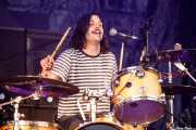 Larry Balboa, baterista de The Parrots (Bilbao BBK Live, Bilbao, 2017)