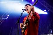 Álex de Lucas, bajista de The Parrots (Bilbao BBK Live, Bilbao, 2017)