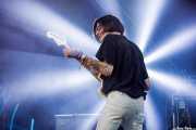 Daniel Treviño, guitarrista colaborador de The Parrots (Bilbao BBK Live, Bilbao, 2017)