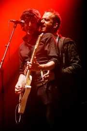 Álvaro García -voz y guitarra- y Jorge Navarro -bajo- de Biznaga