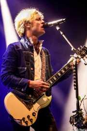 Björn Dixgård, cantante y guitarrista de Mando Diao (Mundaka Festival, Mundaka, 2017)