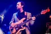 Nick Movshon, bajista de Lee Fields & The Expressions (Mundaka Festival, Mundaka, 2017)