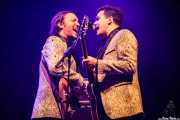 Nick Movshon -bajo- y Vincent John -guitarra- de Lee Fields & The Expressions (Mundaka Festival, Mundaka, 2017)