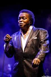 Lee Fields, cantante de Lee Fields & The Expressions (Mundaka Festival, Mundaka, 2017)