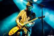 Jon Nichols, guitarrista de Beth Hart (Mundaka Festival, Mundaka, 2017)