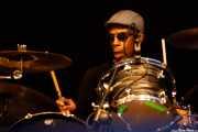 Oscar Harrison, baterista de Ocean Colour Scene (Mundaka Festival, Mundaka, 2017)