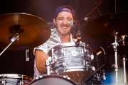 John Fatum, baterista y cantante de The Rad Trads (Mundaka Festival, Mundaka, 2017)