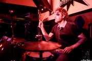 Johannes Ziegler, baterista de The BeatPunkers (Shake!, Bilbao, 2017)