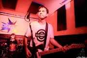 "Johannes Ziegler -batería- y Joseba Aranburu ""Joss"" -voz y guitarra- de The BeatPunkers (Shake!, Bilbao, 2017)"