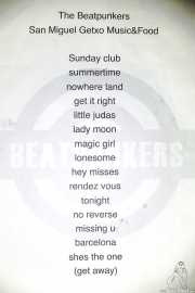 Setlist de The BeatPunkers (Shake!, Bilbao, 2017)