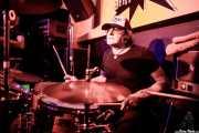 "George ""Huracán"" Hernández, baterista de The Ribbons (Shake!, Bilbao, 2017)"