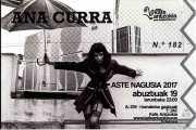 Entrada de Ana Curra presenta El Acto (Kafe Antzokia, Bilbao, )
