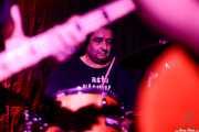 "Joseba Tapia ""Koko"", baterista de J.O.E. (Kremlin Aretoa, Bilbao, 2017)"