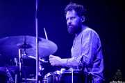 Toni Toledo, baterista de Amaral (Aste Nagusia - Abandoibarra, Bilbao, 2017)