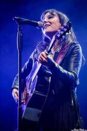 Eva Amaral, cantante y guitarrista de Amaral (Aste Nagusia - Abandoibarra, Bilbao, 2017)