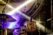 Daniela Kennedy, baterista de The Limboos (Aste Nagusia - Algara Txosna, Bilbao, 2017)