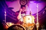 Pello Arza, baterista de Tooth (Aste Nagusia - Algara Txosna, Bilbao, 2017)
