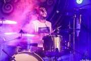 Christian Rodriguez, baterista de Lukiek (Aste Nagusia - Algara Txosna, Bilbao, 2017)