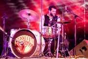 Israel Checa, baterista de Freedonia (Aste Nagusia - Plaza Nueva, Bilbao, 2017)