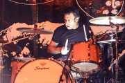 Alberto L. Martín, baterista de La Secta (Festivalle Tobalina, Quintana Martín Galíndez, 2017)