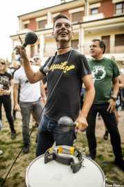 Juanillo Basura, maracas y golliat  de The Oddballs (Festivalle Tobalina, Quintana Martín Galíndez, 2017)