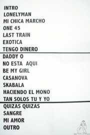 Setlist de Tito Ramírez (Festivalle Tobalina, Quintana Martín Galíndez, 2017)