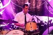 Nuno Gomez, baterista de TT Syndicate (Festivalle Tobalina, Quintana Martín Galíndez, 2017)