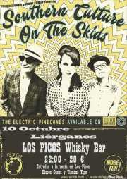 Cartel de Southern Culture on the Skids (Whiskey Bar Los Picos, Liérganes, )