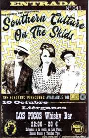 Entrada de Southern Culture on the Skids (Whiskey Bar Los Picos, Liérganes, )