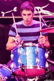 Maxime Raynier, baterista de Jon and The Vons (Funtastic Dracula Carnival, Benidorm, 2017)